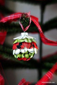 25-25 Creative DIY Christmas Ornaments Project Ideas