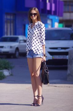Look of the Day: Polka Dots