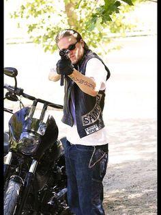 Charlie Hunnam as jax teller sons of anarchy