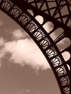 a small part of the eiffel tower ..that's enough for now.