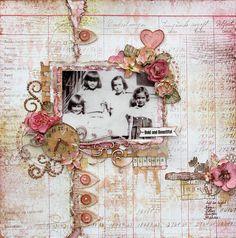 Devoted Sisters (Designed for C'est Magnifique) - Scrapbook.com
