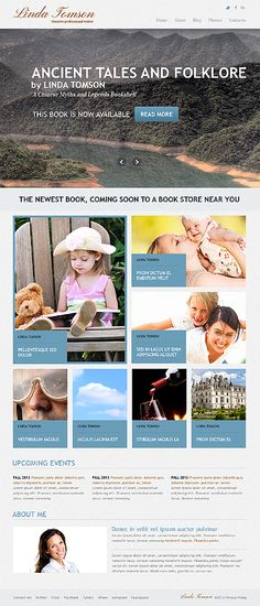 Writer Books Joomla Template #website http://www.templatemonster.com/joomla-templates/42424.html?utm_source=pinterest&utm_medium=timeline&utm_campaign=writ
