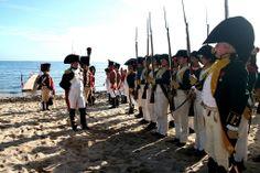 Napoléon passe en revue les hommes de la Légion Irlandaise - Napoleon reviews the men of the Irish Legion