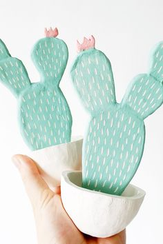 For the friend who can't even keep a cactus alive, get them a ceramic version.