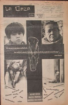 La Raza newspaper, November 1969.