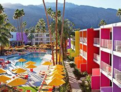 The Saguaro in Palm Springs ... the power of colour... beautifully unexpected and visually exciting