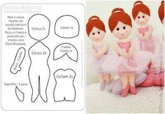 .diy dolls, image only but you can print out the pattern from it