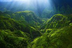 "Aloha Friday Photo: ""Hanalei Canyon"" | Go Visit Hawaii"