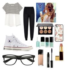 """""""Untitled #1"""" by sbiggs-i on Polyvore featuring STELLA McCARTNEY, Converse, Zara, Lord & Berry and Maybelline"""