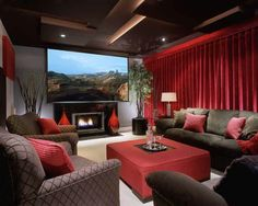 Terrific theater room