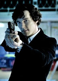 Love Sherlock :) plus he looks fantastic in his suits