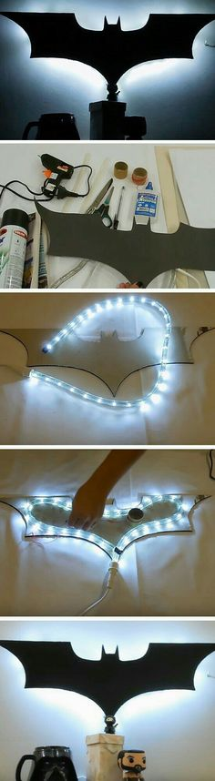 Batman Luminary & 16 DIY Man Cave Decor Ideas for Small Spaces that will rock your world! Japanese Garden Ideas and Tips Source by The post Japanese Garden Ideas and Tips appeared first on Dotson DIY Services. Diy Deco Rangement, Wood Crafts, Diy And Crafts, Beer Crafts, Luminaria Diy, Batman Room, Batman Art, Superman, Man Cave Diy