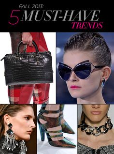 Fall 2013: 5 Must-Have Trends