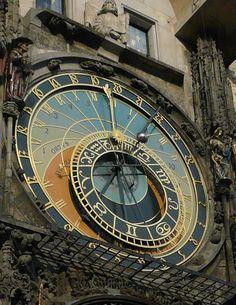 The Astrology Clock, Prague -- http://All-About-Tarot.com