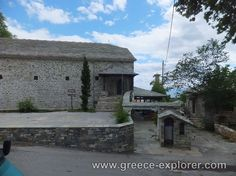 Village Vizitsa in Mount Pelion Greece, Cabin, Explore, House Styles, Places, Decor, Greece Country, Decoration, Cabins