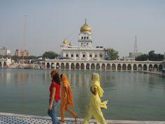 Der Sikh-Tempel Gurdwara Bangla Sahib
