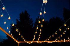 75 ft. Green 25-Socket Globe String Lights With 36 Inch Spacing 7 Watt Light Bulbs Included Indoor Outdoor Wedding Patios Gazebo Tents Decor by TaaraBazaar on Etsy https://www.etsy.com/listing/287204731/75-ft-green-25-socket-globe-string