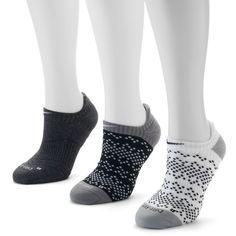 Nike 3-pk. Dri Fit No Show Women's Running Socks ($18) ❤ liked on Polyvore featuring intimates, hosiery, socks, brown over, brown socks, no seam socks, sweat wicking socks, moisture wicking socks and nike