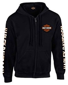 Harley-Davidson Sweatjacke Shoulder Accent
