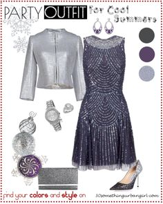 Elegant Holiday Party Outfit for Cool Summers and Cool Winter