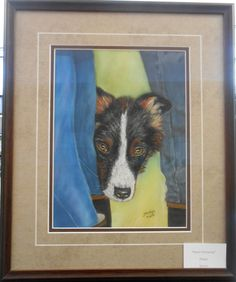 """Art for the month of February 2017, by Jacalyn Carr. """"Sweet Innocence"""" done in pastel."""