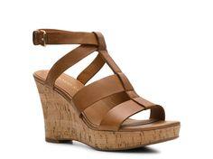 Franco Sarto Cerla Wedge Sandal Women's Casual Sandals Sandals Women's Shoes - DSW - size 6.5