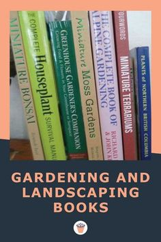 Over the years that I've had this obsession with plants and gardening, I've accumulated many books in my library, acquiring some from other people as gifts, or at garage sales or in the recycle center. I prefer books that give me ideas for my garden projects, but not lots of diagrams. Here are a few of the gems in my library which you may be interested in locating. #gardeningbooks #landscapingbooks #gardeningresources Small Succulents, Succulents Garden, Common House Plants, Moss Garden, Gardening Books, Drought Tolerant Plants, Companion Planting, Garden Projects, Indoor Plants