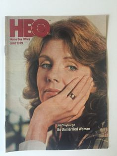 HBO TV Movie Guide June 1979 Jill Clayburgh An Unmarried Woman Vtg | eBay