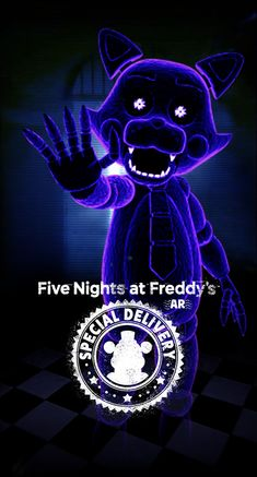 Freddy S, Five Nights At Freddy's, Fnaf 5, Fairy Tail, Candy Theme, Fnaf Characters, Freddy Fazbear, Cute Kawaii Drawings, Special Delivery