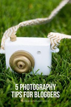 5 Photography Tips for Bloggers