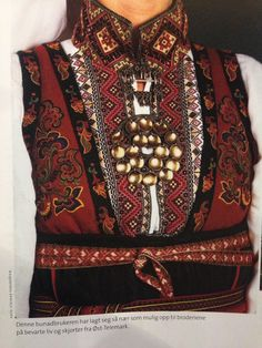 Norway Ethnic Fashion, Boho Fashion, Scandinavian Embroidery, Ethnic Outfits, Folk Costume, Festival Wear, Traditional Dresses, Folklore, Dance Wear