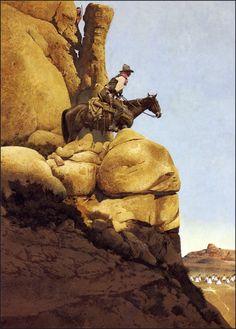 Riding Point, by Robert McGinnis (American, born 1926)
