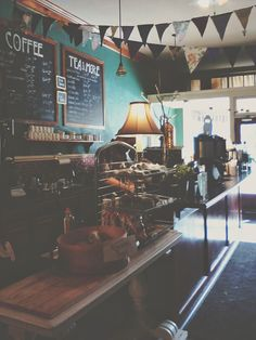 If I owned a coffee shop I would suspect it would look extremely similar to this