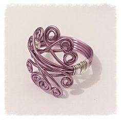 purple spirals - The Supermums Craft Fair