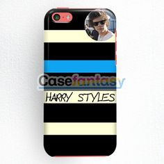 Harry Styles One Direction Cool Photo iPhone 5C Case | casefantasy