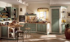 More ideas below: Modern Traditional Kitchen Design Ideas Small Traditional Kitchen Cabinets Rustic Traditional Kitchen Backsplash Remodel White Traditional Kitchen Table Decor Classic Warm Traditional Kitchen Country Kitchen Designs, Rustic Kitchen, Kitchen Decor, Cosy Kitchen, Scavolini Kitchens, Coffee Theme Kitchen, Deco Zen, Green Kitchen, Painting Kitchen Cabinets