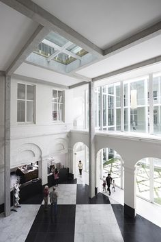 Stadhuis Menen, 2002-2012, noAarchitecten © Stijn Bollaert
