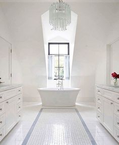 A Light And Airy Bathroom In Victorian Home Interior By Beatrix Rowe Design Photo Shannon McGrath