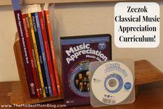 Zeezok Elementary Classical Music Curriculum For Homeschoolers! | themodestmomblog.com