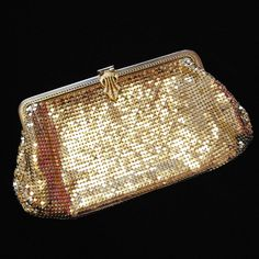1940s vintage gold chain mail evening bag by iamia | notonthehighstreet.com