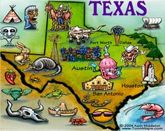 Kevin Middleton and FunGraphix cartoon map drawings