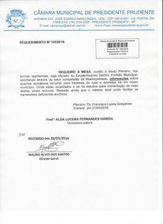 Profª Alba Lucena: Requerimento: Informações sobre semáforos sonoros