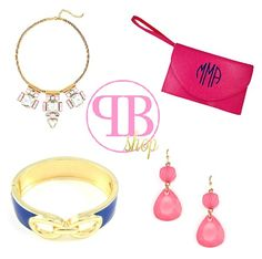 Add a pop of color to your life! Pink Bubbly's fun yet sophisticated jewelry and accessories will give the perfect touch of glamour to any outfit. Plus, check out their Monogram Shop for customizable accessories! And for the bride-to-be, Pink Bubbly will make you shine on your wedding day! Time to #PopTheBubbly :) {http://pinkbubblyshop.com/} #PinkBubblyShop @pinkbubblyshop