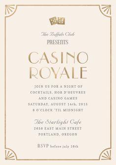 Casino Royale by Hooray Creative