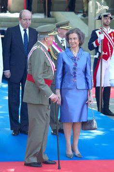 Rey Juan Carlos y Reina Sofia