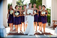 casual bridal party pictures sealed with a hershey kiss | sara+brian