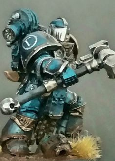 Captain Pellendir, Master of the 3rd Knight Company - Kitbashed model