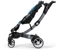 Origami stroller. Power folding, with a built in generator that charges as you walk. I'm Impressed.