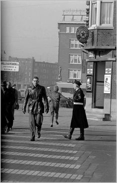 Rotterdam - Schieweg / Bergweg Jaren '60.