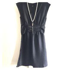 H&M little black dress H&M little black tie back dress. Bundle necklace / bracelet for $20 total! H&M Dresses